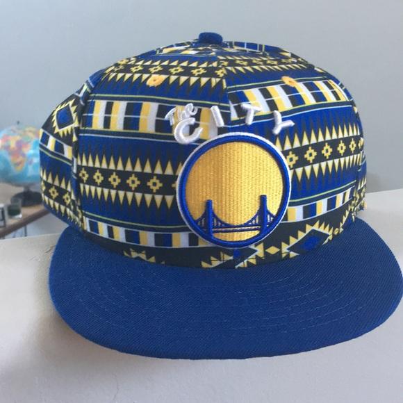brand new b8727 6ff9f Golden state warriors new era flat bill hat
